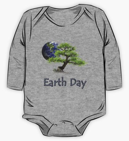 Earth Day One Piece - Long Sleeve