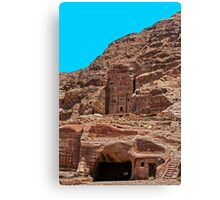 Royal Tomb (Urn Tomb2). Canvas Print