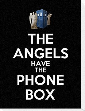 The Angels Have The Phone Box by Royal Bros Art