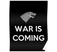 House Stark War Is Coming Poster