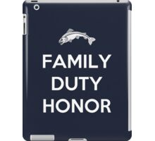 House Tully Family Duty Honor iPad Case/Skin