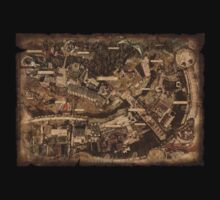 Dark Souls Map by daev