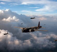 Vickers Wellingtons by Gary Eason + Flight Artworks