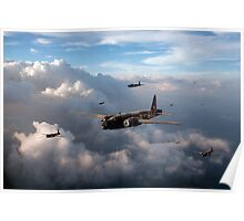 Vickers Wellingtons Poster