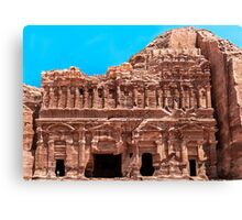 The Palace Royal Tomb. Canvas Print