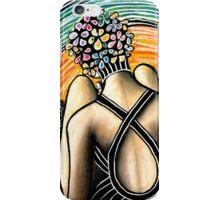 Shy Bather iPhone Case/Skin