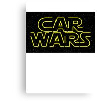 Car Wars - Start Wars Canvas Print