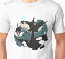 Porcas - Pudgy Orcas Unisex T-Shirt