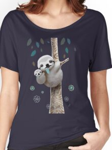 Baby Sloth Daylight Women's Relaxed Fit T-Shirt