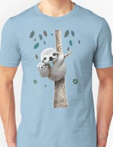 Baby Sloth Daylight Unisex T-Shirt