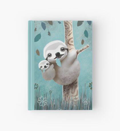 Baby Sloth Daylight Hardcover Journal