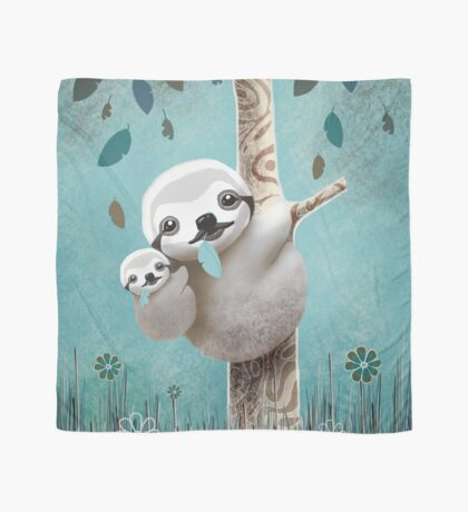 Baby Sloth Daylight Scarf
