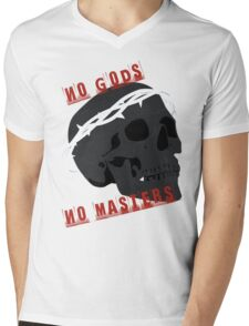 No Gods No Masters  Mens V-Neck T-Shirt