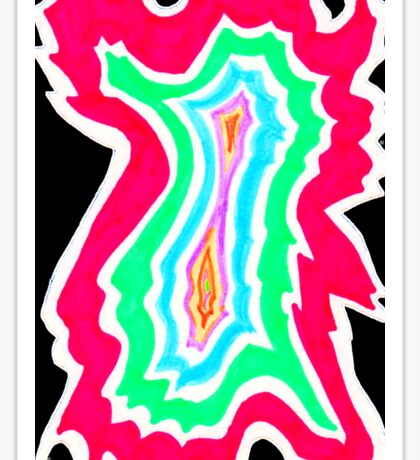 Colorful Abyss Sticker