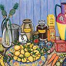 GPK Still Life no 3. by Sarina Tomchin
