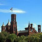 The Smithsonian Castle by Cora Wandel