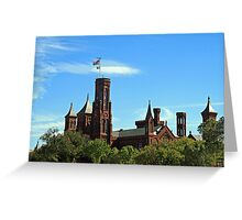The Smithsonian Castle Greeting Card