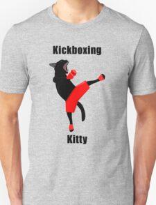 Kickboxing Kitty in vector T-Shirt