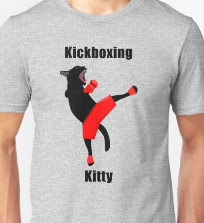 Kickboxing Kitty in vector Unisex T-Shirt