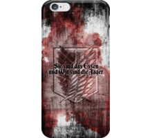 Grunge corps. iPhone Case/Skin