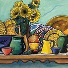 Ceramics Still Life by Sarina Tomchin