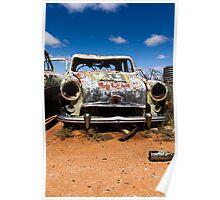 Car wreck Silverton  Poster