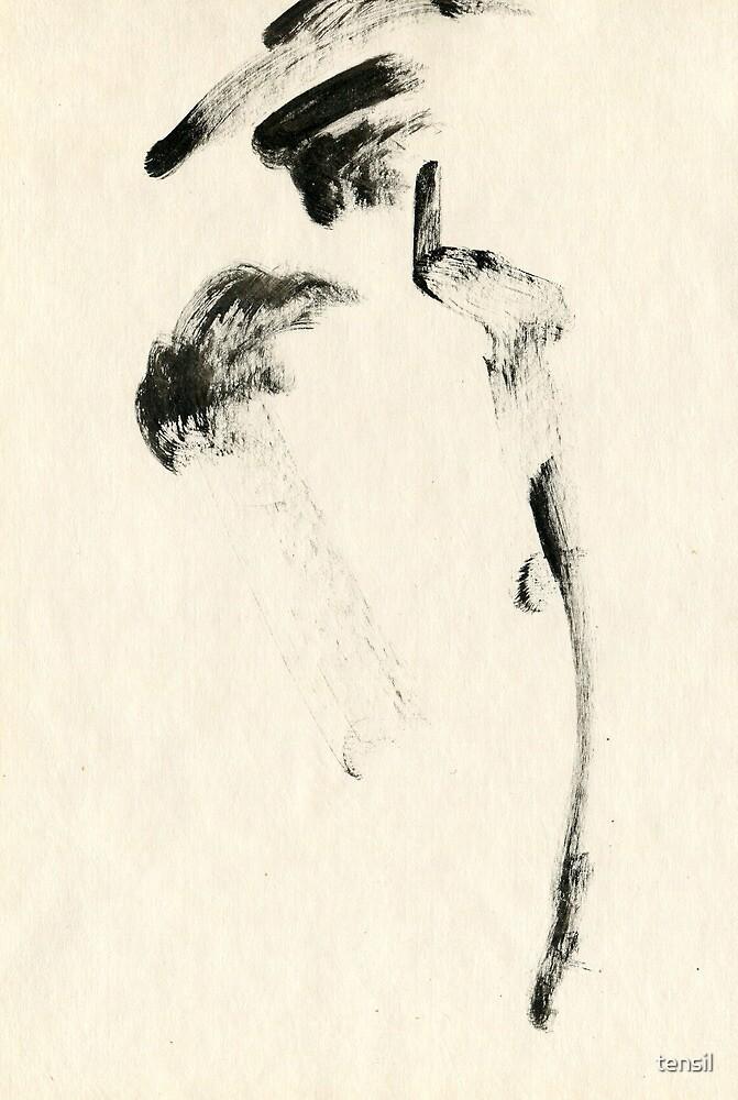 lady in fur by tensil