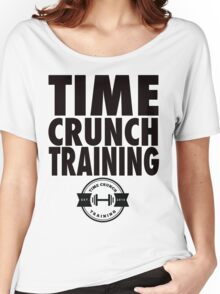 Time Crunch Training Nike Style Tee Women's Relaxed Fit T-Shirt
