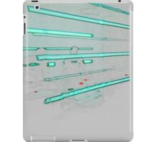 BLACK Ancient Methods #7 iPad Case/Skin