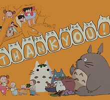 My Neighbor Totoro - Thank You! by Leon Tellez