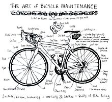 The Art of Bicycle Maintenence 1 by CYCOLOGY