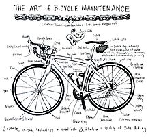 The Art of Bicycle Maintenence 1 Photographic Print