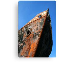 Wrecked Bow Canvas Print
