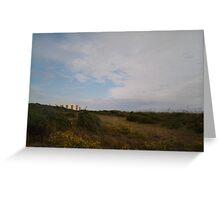 landscape & building  Greeting Card