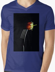 Forked berry Mens V-Neck T-Shirt
