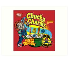 Chucky Charms Art Print