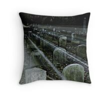 Apparition Appearence in the Sleepy Hollow Cemetery Throw Pillow