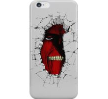 The Walls Are Alive iPhone Case/Skin