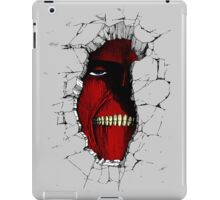 The Walls Are Alive iPad Case/Skin