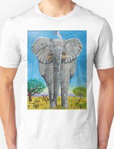 Elephant Taxi Unisex T-Shirt
