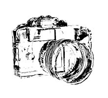 Camera  by Ladyshark
