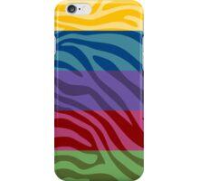 Animal Print Skin Zebra Retro Colorful Pattern iPhone Case/Skin