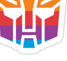 Autobot-apple logo Sticker