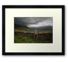 Will it Rain Framed Print