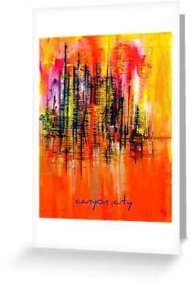 Canyon City 2 by helenehardyart
