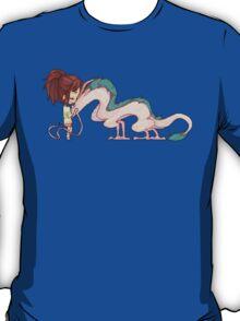 Haku and Chihiro T-Shirt