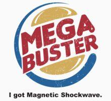 Mega Buster One Piece - Short Sleeve