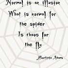Normal is an illusion  by LittleRedTrike