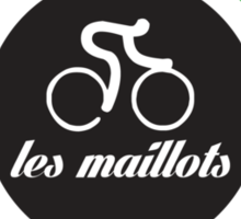 Cycling - The jerseys 'les maillots' Sticker