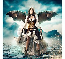 The Steampunk Warrior  Photographic Print